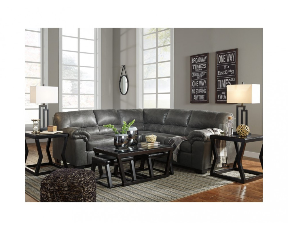 Good Deal Charlie Inc Bladen Slate Sectional Sectionals