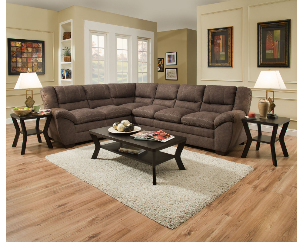 Palermo Mocha Sectional