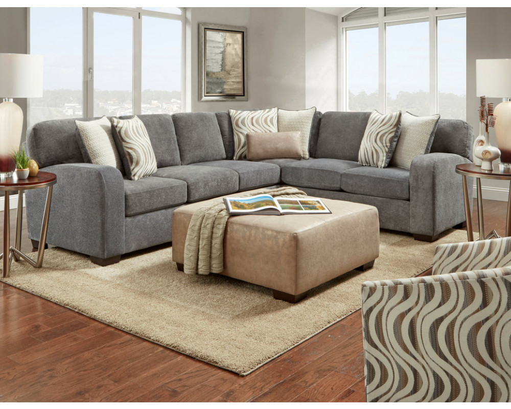 Chandler Steel Sectional