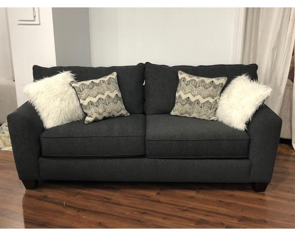 Endurance Charcoal Sofa & Loveseat