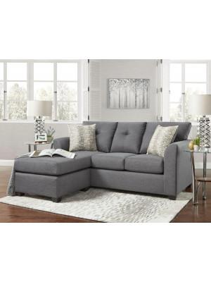 Kelly Grey Sofa Chaise